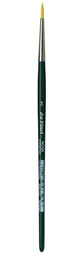 Da Vinci NOVA - Serie 1570 - Cepillo de fibra sintética, líneas de escuela y hobby - Tamaño 3