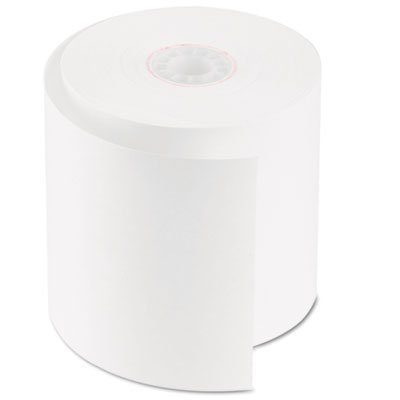Accufax 07701 Single-Ply Cash Register-POS Rolls, 2.75 in. x 150 ft., White, 50-Carton by Accufax