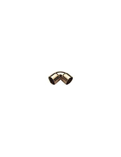 Coude 90° F/F Petit Rayon cuivre à souder/Diam 52/Femelle/Femelle
