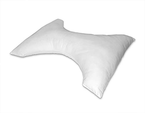 Mash Almohada Mariposa, Polyester, Blanco, 45x70
