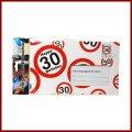 30.Geburtstag Deko XXL Umschlag für Geldgeschenke oder Gutscheine zum 30.Geburtstag Geburtstagskarte zum 30.Geburtstag