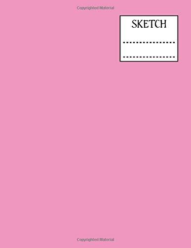 Pinky Kostüm - Sketchbook: Pink, 8.5