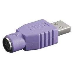 Nilox NX080500104 Adaptador Cable USB 2.0 PS/2 Violeta