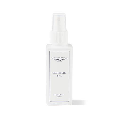 100% Vegetarisch Formel (Luxus Raum-& Kissen Slumber Spray für Schlaf, Entspannung & Schlaflosigkeit (groß 120ml) von Masters of Mayfair, Signature, 120 ml)