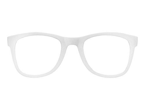 Carrera 5023COV Interchangeable Rechteckig Sonnenbrille, Weiß (VK6)