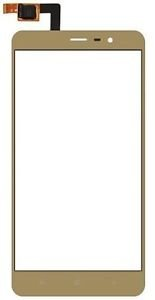 mobishop15 Touch screen digitizer Lens for Xiaomi Redmi Note 3 Gold