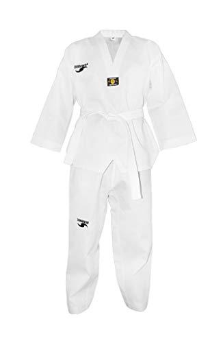 Taekwondo Club (Dorawon Club Dobokkragen Uniform Taekwondo Kinder weiß, Einheitsgröße (Herstellergröße: 90 cm))