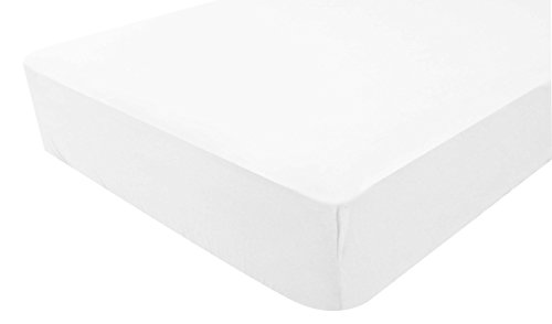 PMP Sábana ajustable Jersey Blanco 40 x 80 cm