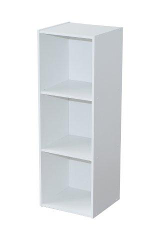 Alsapan Etagère, Bois, Blanc, 32 x 30 x 93 cm