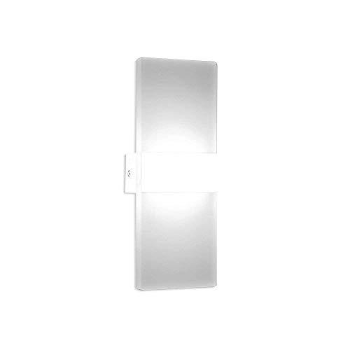 10W Sensor Kaltweiß LED-Wandleuchten Bewegungssensor Wandlampe ideal für Wohnzimmer Schlafzimmer...