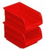 Stanley 056100-004 - Caja organizadora abierta, espacio para guardar cosas de 1 l (10,8 x 11,5 x 7,3 cm) color rojo