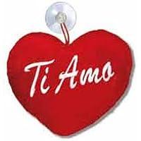 Mini elettrodomestici CUSCINO CUORE PELOUCHE LOVE PORTANOME cod 3529