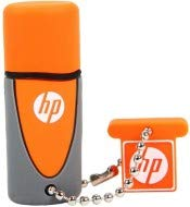 PNY HP v245o 32GB Flash Drive USB 2.0 Stecker Typ A grau orange - USB-Stick (32 GB, 2.0, USB Typ A, 14 MB/s, Kappe, Grau, Orange) -