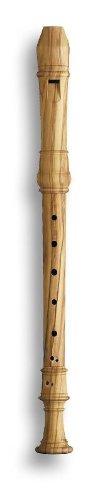 Mollenhauer 5223 Denner Alt-Blockflöte Olive Natur-Holz Barock Doppelloch