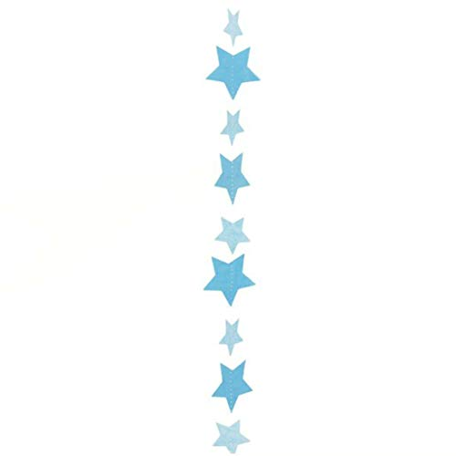 Amscan International 9902831 Ballon tailsball: Tail-Star Blau 1,2 m (Award Star Rock)