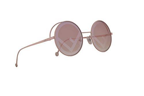 Fendi FF0343/S Sonnenbrille Pink Mit Pinken Gläsern 53mm 35J01 0343S FF0343S FF 0343/S