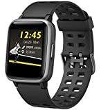 Willful Smartwatch Orologio Fitness Tracker Uomo Donna Sportivo Smart Watch IP68 Cardiofrequenzimetro da Polso Smartband...