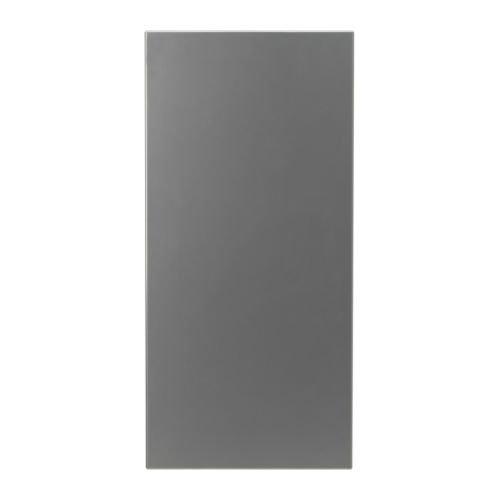 IKEA SPONTAN Magnettafel in silberfarben; (37x78cm)