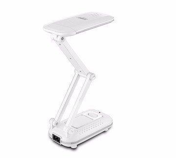 Lampara de mesa LED recargable plegable portatil