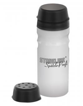 STONELINE  Spätzle Profi - 2 Portionen, mit zusätzlichem Deckel für Dressings, Pfannkuchen, Rührei, etc.