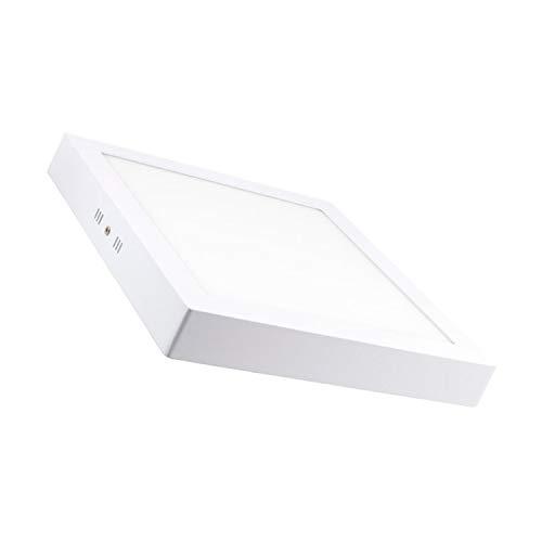 Plafón LED Cuadrado 24W Blanco Frío 6000K-6500K
