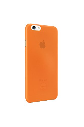 Ozaki oc555og 0.3 Coque de protection ultra-fine et transparente avec film de protection d'écran pour Apple iPhone 6/6S orange