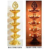 The shiv enterprises Diya deep led Light 5 leyer