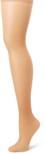 Hanes Silk Reflections Women's Plus-Size Control Top Enhanced Toe Pantyhose