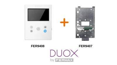Moniteur Veo-XS DUOX 9407 avec connecteur Fermax