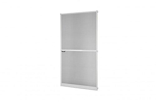 Plus Tür (Insektenschutz Fliegengitter Tür Alurahmen Master SLIM PLUS Zuschnitt weiß, braun oder anthrazit)