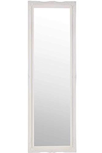 Frames by Post Großer Wandspiegel weiß antik Design Kunstvoller Kleid 124,5x 40,6cm 122cm x 41cm