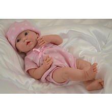 Berenguer Puppe - neugeborener Junge 38 cm realistisch modelliert 18536