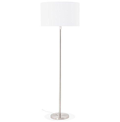 Alterego - Lampadaire design 'LIVING BIG' blanc réglable en hauteur