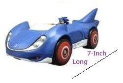 SONIC THE HEDGEHOG - Vehículo de juguete Sonic (NKOK 641) de NKOK