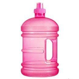 Bluewave DAILY 8® Water Jug - 1.9 Liter (64 oz) BPA-freie Trinkflasche Pink - Tag Jug
