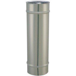 ISOTIP JONCOUX - CONDUCTO DE HUMO - CAñO ACERO INOXIDABLE DIAMETRO 111MM X 1 00M - : 031011