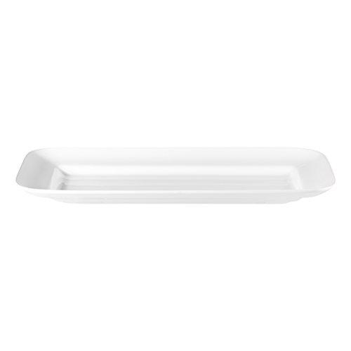 ASA 5249147 Grande Plaque rectangulaire, Céramique, 58 x 31,0 x 5,0 cm, Blanc Brillant