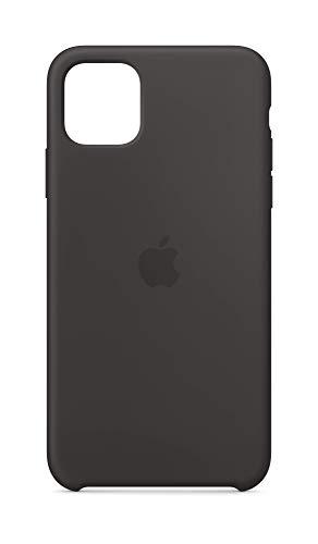 Apple Coque en Silicone (pour iPhone 11 Pro Max) - Noir