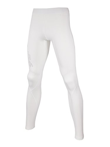Junior Golf Hose (Sub Sports Kinder Warme Thermo-Leggins, Kompressionspassform, Tarnfarbenoptik - Weiß - 9-10 Alter)