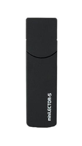 Minilector S EVO Bit4id - Lettore smart card formato SIM - USB 2,0 Full Speed – black
