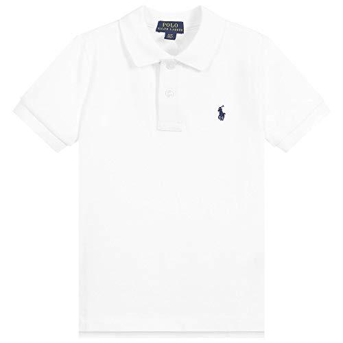 Ralph Lauren Jungen Poloshirt Classic, Weiß, Größe 104