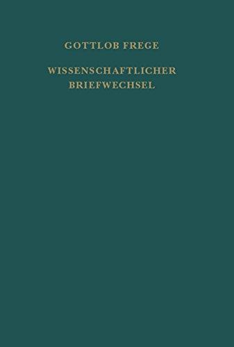 """Nachgelassene Schriften und Wissenschaftlicher Briefwechsel / Wissenschaftlicher Briefwechsel: Zweiter Band der """"Nachgelassenen Schriften und Wissenschaftlicher Briefwechsel"""""""