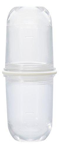 Hario Latte Schttler Off-White LS-70-OW (Japan Import/Das Paket und das Handbuch Werden in Japanisch), Kunststoff, farblos, 7,6 x 17,8 x 7,6 cm