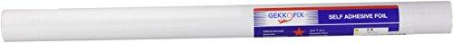 Dintex 71-194 - Vinilo autoadhesivo madera, 45 cm x 2 m, color blanco