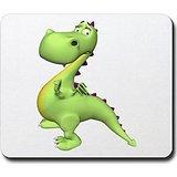 puff-the-magic-dragon-green-mousepad