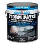Kool Seal KST0000SP Storm Patch schwarz Allwettergummierter Zement