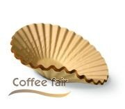 Bonamat Bravilor Korbfilter Kaffeefilter 500Stk braun 90/250mm thumbnail