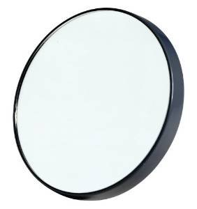MINI 20 x MAGNIFYING MIRROR SMALL COMPACT MAGNIFICATION MIRROR WITH SUCTION PADS - low-cost UK light shop.