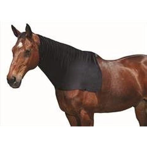 Weatherbeeta Stretch Collo Tappeto, Black, Pony
