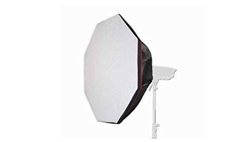 Rocwing Softbox Flat or Grid Honeycomb For Bowens S-Type Square Rectangle Octagon Speedring Studio Strobe Flash Multi Size with Case (Octagonal 95 cm, Front Flat Model) (Für Produkte Kamera-beleuchtung-kit)